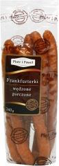 Frankfurterki wędzone pieczone