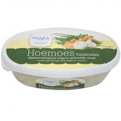 """""""Maza"""" hummus ziołowa pasta z ciecierzycy."""