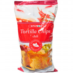 Spar chipsy chili tortilla