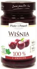 100% z wiśni produkt owocowy słodzony zag.sokiem winogronowym