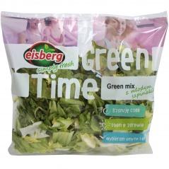 Eisberg mieszanka sałat green mix z młodym szpinakiem