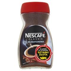 Kawa Nescafé Classic rozpuszczalna bezkofeinowa