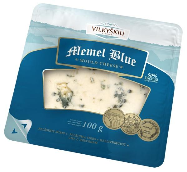 Ser miękki dojrzewający memel blue