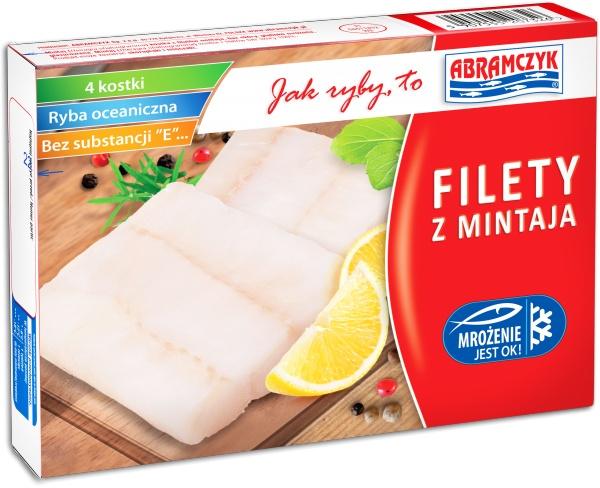 Kostka z filetów Mintaja