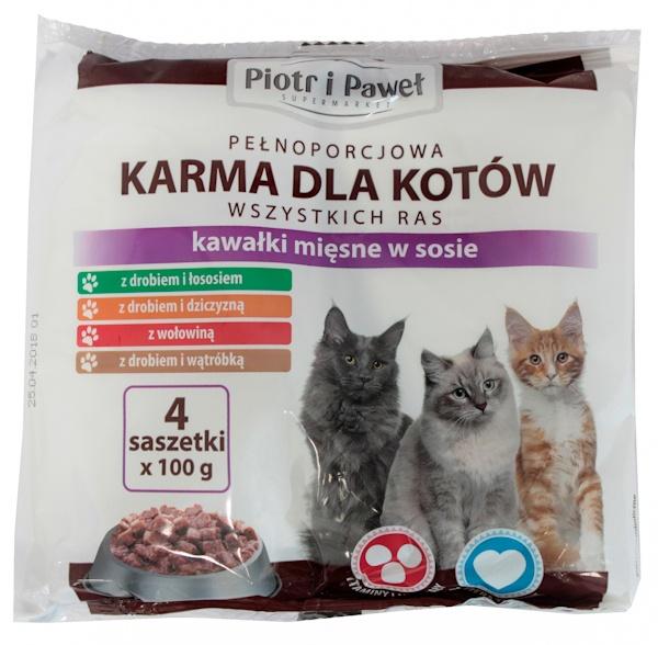 Karma Piotr i Paweł mix smaków
