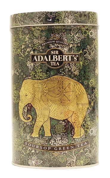 Herbata Adalbert's Soursop Green Tea liściasta