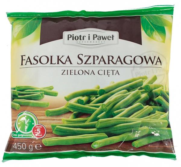 Fasola szparagowa zielona cięta