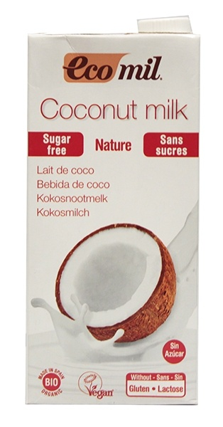 Mleczko kokosowe niesłodzone bio 1l