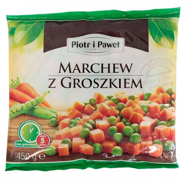 Marchewka z groszkiem Piotr i Paweł