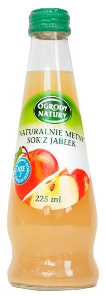 Sok Ogrody Natury z jabłek