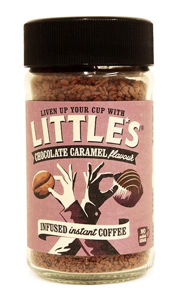 Kawa o smaku czekolady, karmelu i trufli czekoladowych