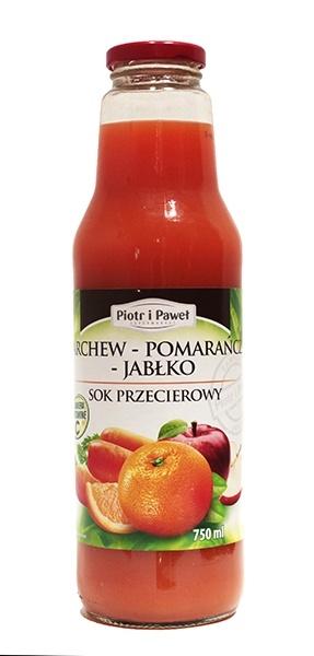 Sok Piotr i Paweł marchew pomarańcza jabłko