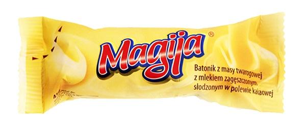 Baton Magija twarogowy zagęszczony mlekiem