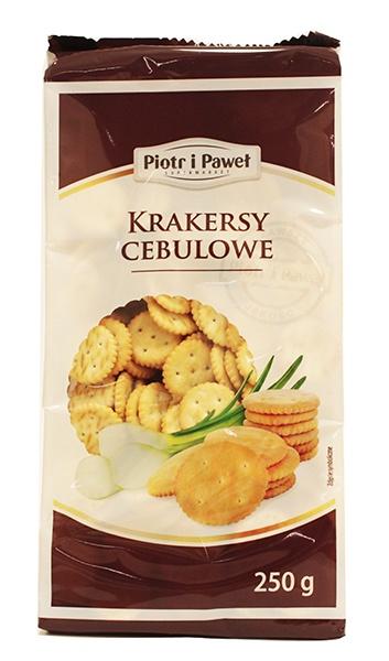 Krakersy cebulowe Piotr i Paweł