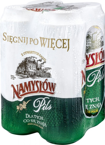 Piwo Namyslow Pils Puszka 4x0 568l 1 Szt 2 272 Litr Browar