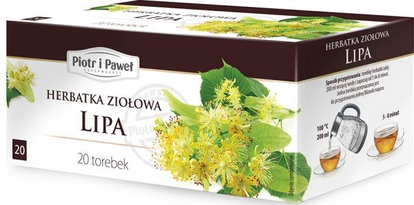 Herbatka ziołowa Lipa Piotr i Paweł