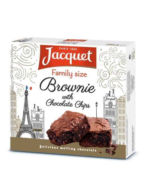 Familijny brownie z kawałkami czekolady