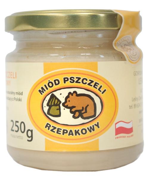 Miód pszczeli rzepakowy