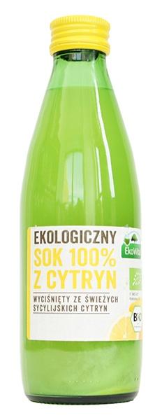 Sok z cytryn 100% bio