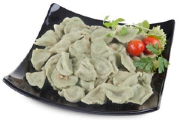 Pierogi szpinakowe zielone Kuchnia Polki