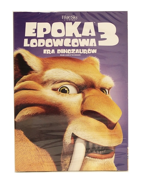 Bajki dvd Epoka lodowcowa 3 era dinozaurów
