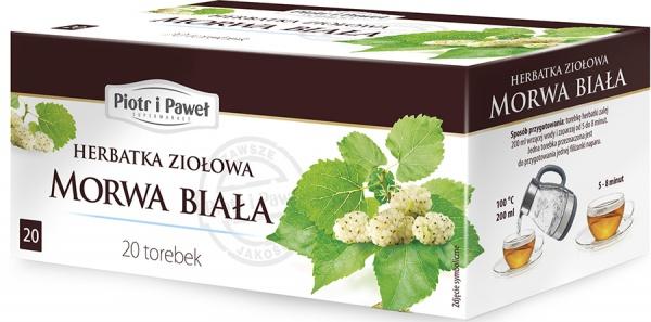 Herbatka ziołowa Morwa Biała Piotr i Paweł
