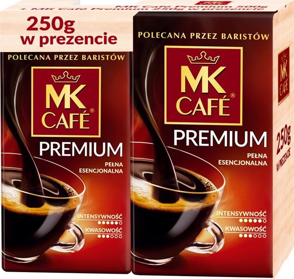 Kawa mk cafe premium mielona 500+250gratis
