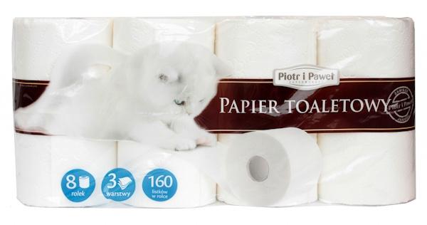 Piotr i Paweł papier toaletowy biały