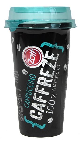 Napój kawowy mleczny caffreze cappuccino