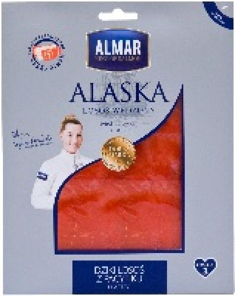 Łosoś dziki z Alaski plastry
