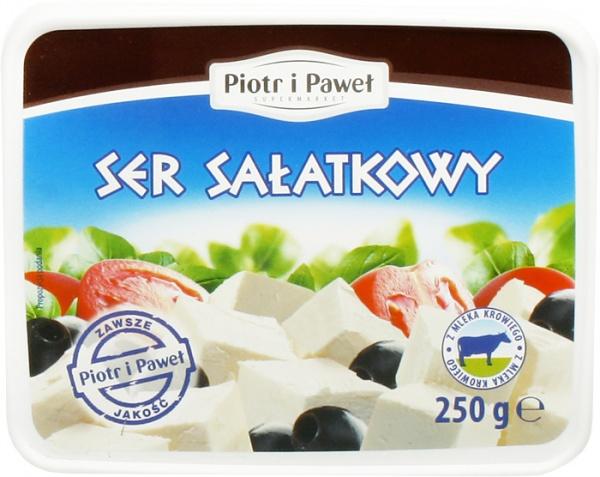 Ser sałatkowy z mleka krowiego Piotr i Paweł