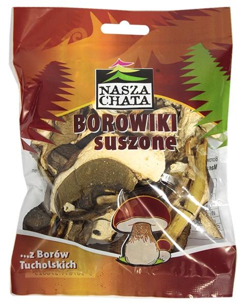 Borowiki szlachetne suszone