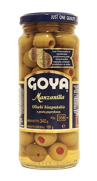 Oliwki z papryka Goya