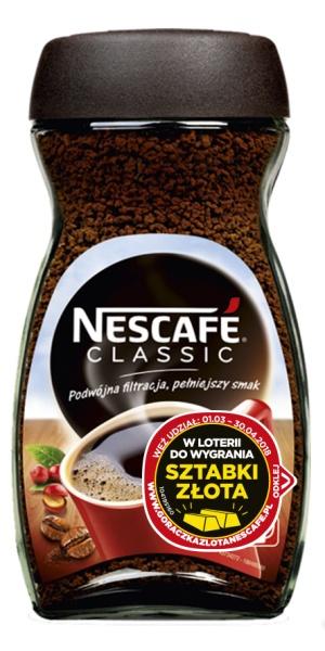 Kawa Nescafé Classic rozpuszczalna