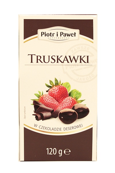 Truskawki w czekoladzie deserowej
