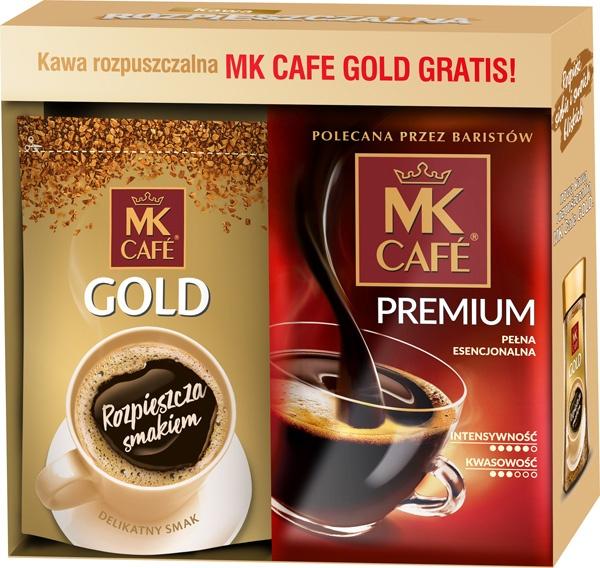Kawa mk cafe premium mielona 500+mk instant gold 75g