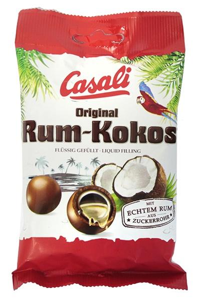 Draże czekoladowe Rum