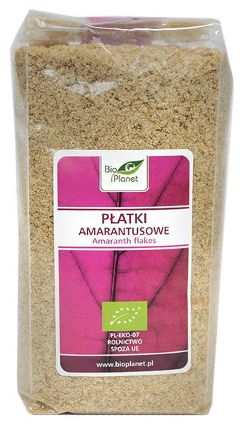 Płatki amarantusowe-bio planet