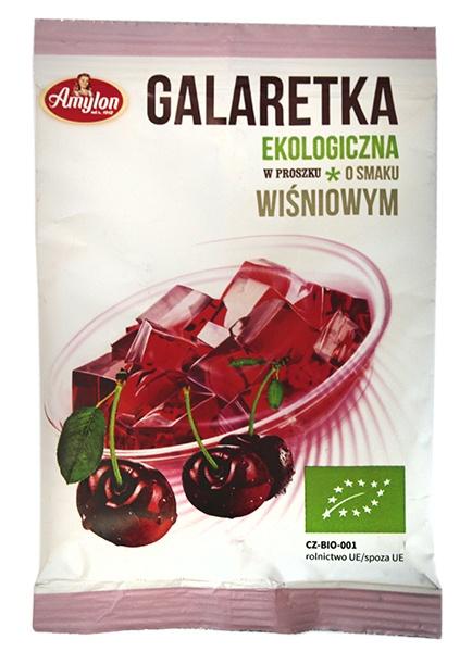 Galaretka o smaku wiśniowym bio- amylon