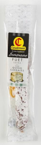Fuet extra con queso cabrales - smak figowy lub serowy