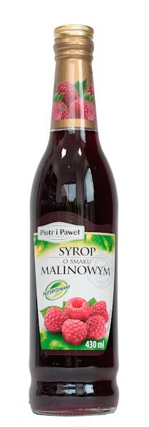 Syrop malinowy Piotr i Paweł