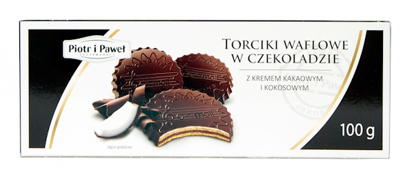 Torciki waflowe Piotr i Paweł