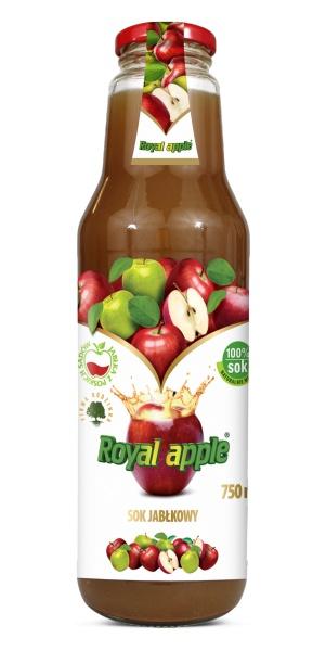 Sok jabłkowy royal apple bezpośrednio tłoczony