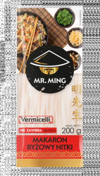 Makaron ryżówy nitka vermicelli Mr.Ming