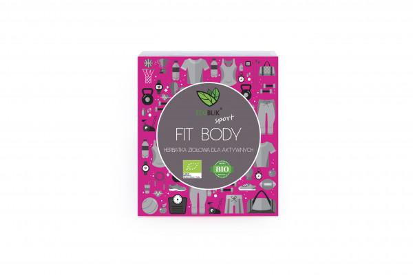 Herbata ecoblik ziołowa eksp.fit body eko