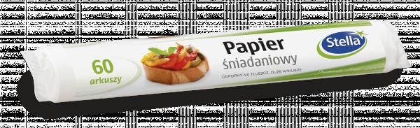 Papier śniadaniowy 60szt rolka
