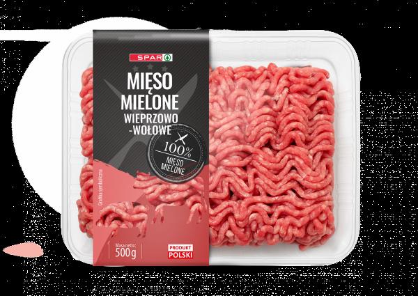 Spar mięso mielone wieprzowo-wołowe