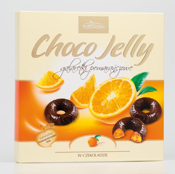 Galaretki Choco Jelly pomarańczowe
