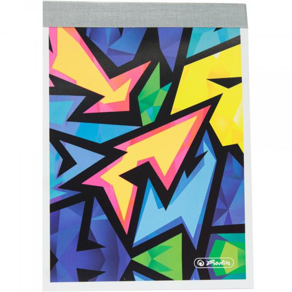 Notes a6 46krat. neon art.