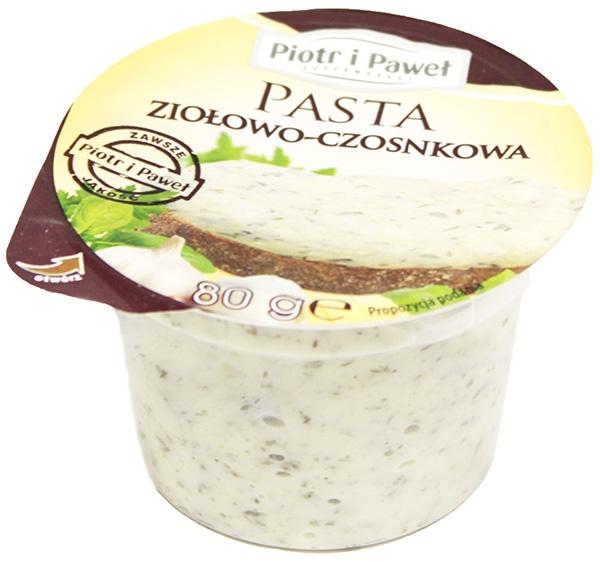 Pasta Ziołowo-Czosnkowa Piotr i Paweł
